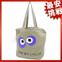 SEE BY CHLOE eyeball print tote bag canvas Womens