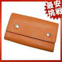 HERMES serie 4-key holder key holder Leather Womens fs3gm