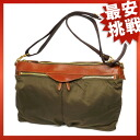 kino cloth long shoulder bag shoulder bag nylon X leather unisex upup7