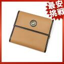 HUNTING WORLD Nylon canvas folding wallet 2 fold wallet (purse is) x leather unisex Nylon canvas