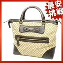 GUCCI Sioux key canvas bag handbag canvas x leather Lady's fs3gm
