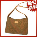 ETRO Paisley shoulder bags canvas / Leather Womens