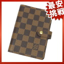 LOUIS VUITTON agenda PM R20700 and others ダミエキャンバスユニセックス fs3gm