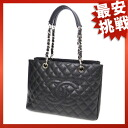 CHANEL chain shoulder shoulder bag caviar skin Lady's fs3gm