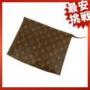 LOUIS VUITTON Pochette toilet M47542 cosmetic pouch Monogram Canvas ladies