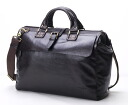 Business bag Dulles bag HIDEO WAKAMATSU hideo wakamatsu cowhide men dough Ren A4 storing medium size brown 10P30Nov13