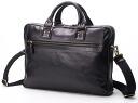 Business bag briefcase HIDEO WAKAMATSU hideo wakamatsu cowhide men dough Ren A4 storing brown 10P10Nov13