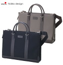 Business bag hideo design HIDEO WAKAMATSU hideo wakamatsu nylon X cowhide briefcase Vista 2 single briefs 10P13oct13_b 10P30Nov13