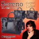 Business bag business back men HIDEO WAKAMATSU antique style seleno side type tote bag A4 storing man shoulder new life 10P13oct13_b 10P10Nov13