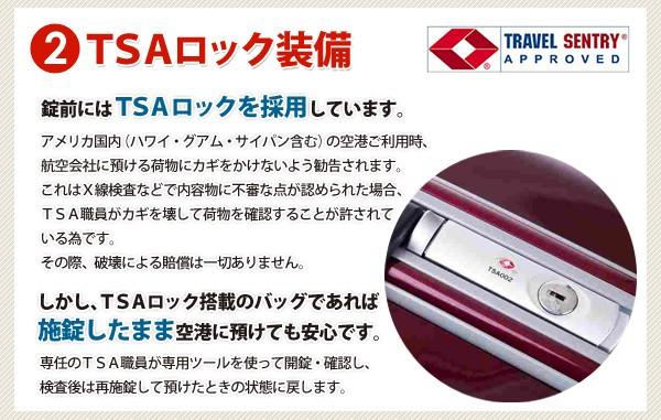 TSA 락