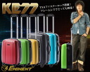 'KE77' in-flight carry-on-friendly suitcase travel bag suitcase cabin bringing small S size lightweight 4-wheel trunk carry case travel bag EMINENT TSA fastener suitcase P06Dec14