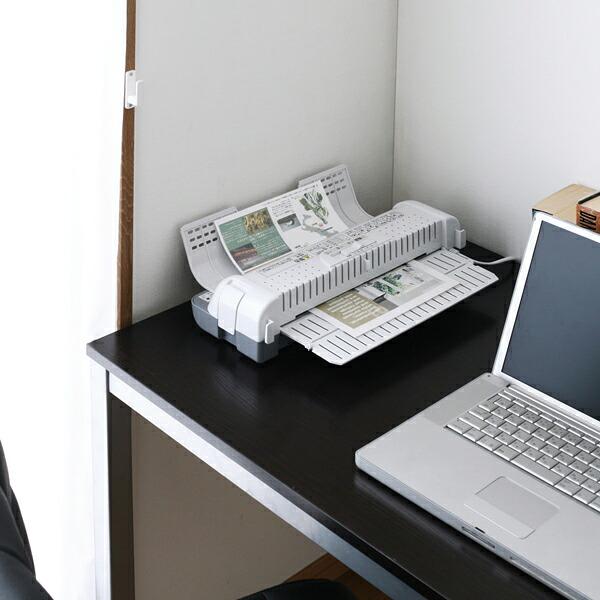 ラミネーター LTA42W(A4対応) 白/灰 アイリスオーヤマ