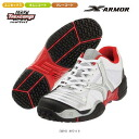 Tennis shoes white BTUS25-WH for Bridgestone (Bridgestone) tread grip X Armour Omni clay courts●●