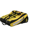 VOLKL (snow) Boris Becker's model ツアースーパーメガ Bag Black / Yellow 244.636