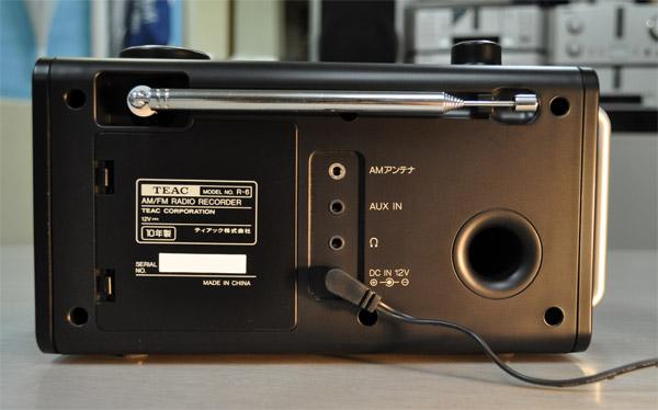 AM/FM ラジオレコーダー TEAC-R-6