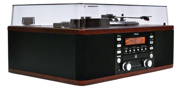 TEAC LP-R550USB-WA 木目調 ターンテーブル/カセット付きCDレコーダーは気品溢れる木目調