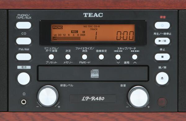 LP-R480 操作