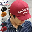 OLDMAN's (オールドマンズ) ショートブリム sweatshirts B.B Cap Hat baseball cap short brim to anyone familiar with the product short collar silhouette ☆ all-season cotton 100% large size mens ladies