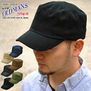 OLDMAN's (オールドマンズ) military Cap Hat spring summer deeper thought, an ideal fit ☆ small face effect also expected! Size free! Great all-season cotton 100% deep men's women's