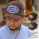 I put it on, and the feeling is deep, and saliva short めが ideal is like OLDMAN'S (old men) ショートブリムコーデュロイ B.B cap hat baseball cap short saliva. Size men gap Dis whom all season American casual has a big