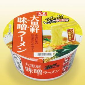 大黒食品大黒軒味噌ラーメン×12個【ケース販売】