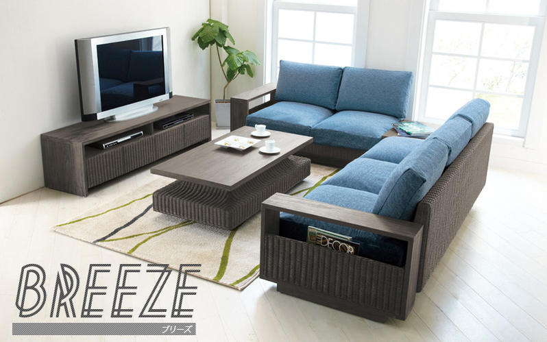 モダンアジアン家具チークとアッシュカラーのラタンがおしゃれなインテリアシリーズ