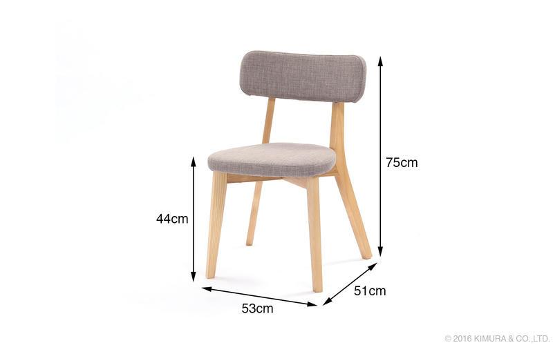 北欧家具、ダイニングチェアー、椅子。ZAGO ALI ダイニングチェアー