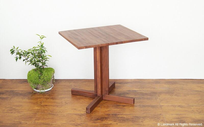 チーク無垢木製テーブル 角型