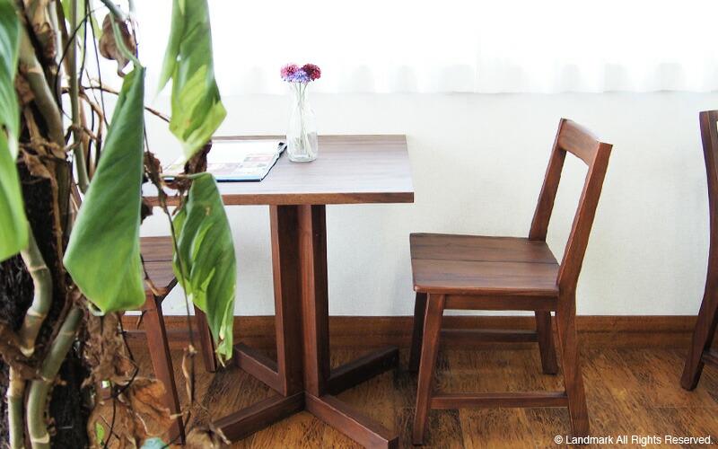 北欧 ミッドセンチュリーテイストにもオススメ@CBi acbi アクビィ カフェテーブル
