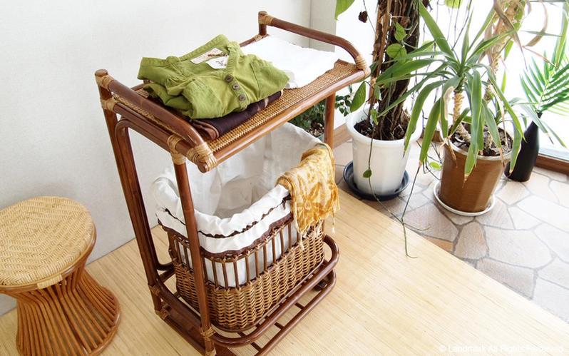 ランドリーバスケット 衣類収納 浴室 お風呂