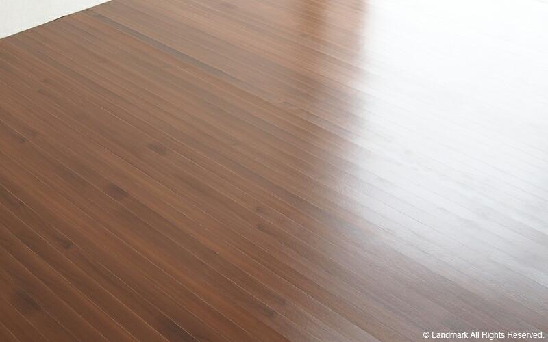 ウッドカーペット ブラウン