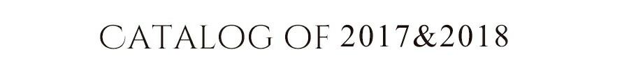2017&2018モデル カタログ