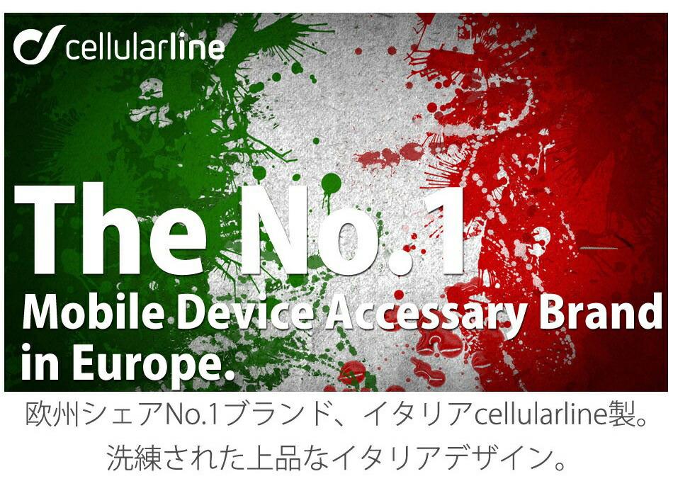 欧州シェアNo.1ブランド、イタリアCellularline製。