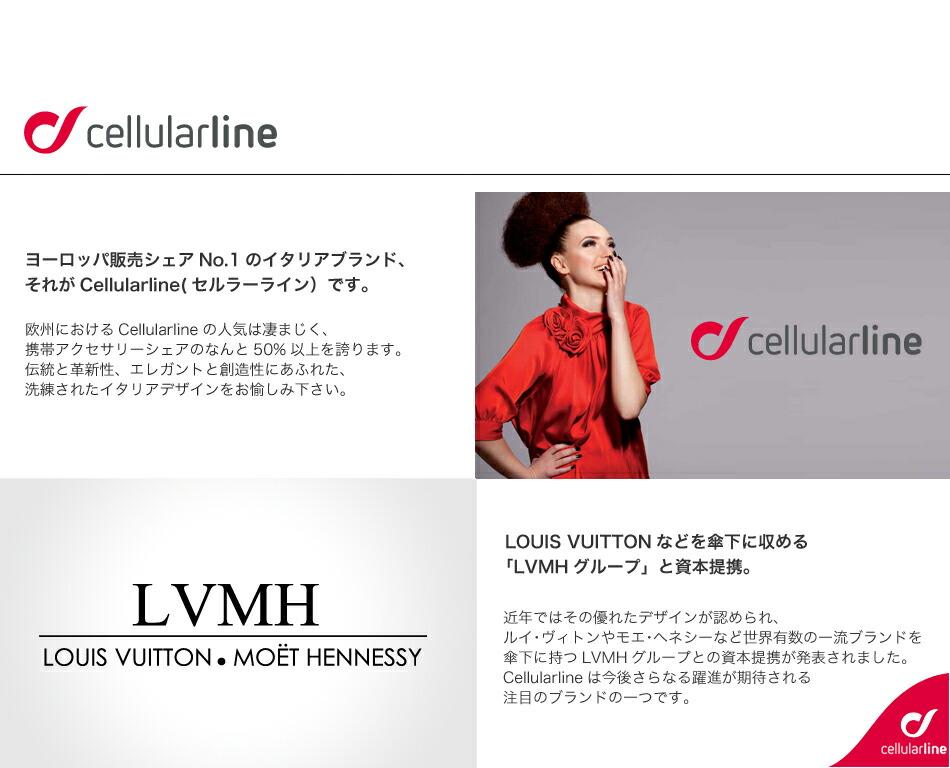 Cellularlineはルイ・ヴィトンを有するLVMHグループと資本提携してます。