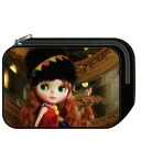 -Large square pen case (mirror)