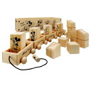 -Dolly cavity blocks ★ wooden toys series ★ anime toy store Disney ☆☆☆