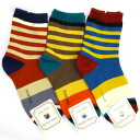 1581 Socks 3 feet set (stripe fine)