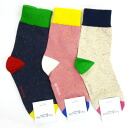 1582 Socks 3 feet set ( two-tone )
