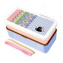 -Two-lunch box ( Kat ) ★ applique ★...