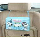 Tissue case, Snoopy & Belle ★ car accessories ★