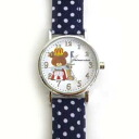 -Watch, dot pattern belt ( dark blue ) ★ Jackie making tomato ★