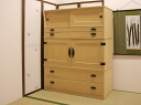 Lavender house rakuten global market paulownia chest of for Furniture 4 less outlet