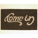 Coco-mat cam Inn COME IN / GO AWAY Brown ★ Matt Colyer ★ coconut mats ★ door mats ★ American gadgets ★ American gadgets ★ candy gadgets ★ AME miscellaneous American goods shop