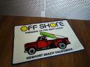 Off-shore floor mat / Matt California/USA