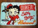 """Betty interior mat / diner """"Betty Boop"""" Betty Boop floor mat mat"""
