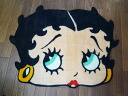 "Betty big size (85cm) interior mat / die cut (face) ""Betty Boop"" Betty Boop floor mat doorstep mat"