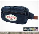 Denim American waist back (1106) body back American casual bag