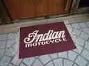 Indian pocessing garagematt (logo) cotton mat door mat