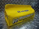 ★ fashionable canvas tissue cover mooneyes (yellow) ★ tissue box tissue case tissue