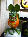 Ed Roth Rat Fink the giant promotion deal 100 cm figure signs